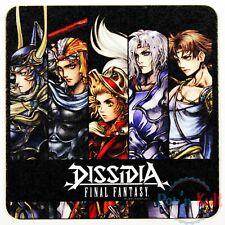 Dissidia Final Fantasy Warrior Firion Cecil Bartz Coaster Square Enix Cafe VGC