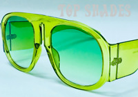Fashion Designer Thick Frame Oversize Large Square Women Men Style Sunglasses