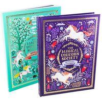 The Magical Unicorn Society 2 Book Set: Colouring Book and Handbook