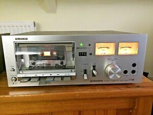 Pioneer Cassette Tape Deck    CT-F4040