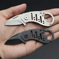 Portable Mini Folding Knife Outdoor Camping KeyChain Pocket Survival Tool