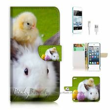 ( For iPod 5 / itouch 5 ) Flip Case Cover P2359 Bunny Rabbit