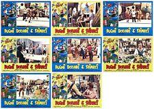 PUGNI DOLLARI E SPINACI SET FOTOBUSTE 8 PZ BRACCIO DI FERRO 1978 BOXE LOBBY CARD