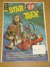 STAR TREK #20 VG (4.0) GOLD KEY COMICS SEPTEMBER 1973 COVER B