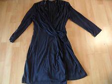 BLACKY DRESS Berlin chices Jerseykleid Knotenwickeloptik Gr. 38  SNC216