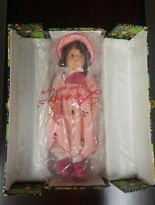 "Lenci, Felt Doll, Patrizia, 20"", Original Box, Letter of Authenticity, 1981"