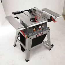 "Craftsman 10"" Table Saw Precision Speed Laser Trac w/ Metal Stand Shop FREE SHIP"