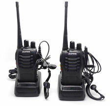 2 * Baofeng BF-888S 2-way Radio Interphone UHF 400-470MHz 16CH Walkie Talkie