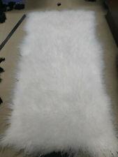 Real Sheepskin Rugs Throw Pelt Wool Lambsikin Blanket Natural Leather Fur
