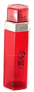 NEW Run Disney Marvel Avengers Super Heroes Half Marathon 2015 Red Drink Bottle