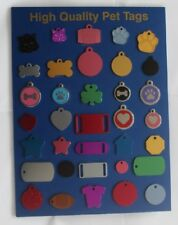 CAT, DOG, LUGGAGE, KEY IDENTITY TAGS ENGRAVED & POSTED SAME DAY