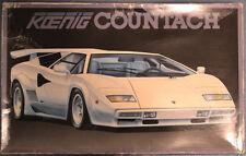 Fujimi 1/16 Lamborghini Countach Koenig Special