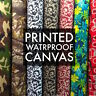 "Printed Canvas Fabric Waterproof Outdoor 60"" wide 600 Denier by the yard"