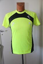 Original  tee shirt homme Running ROGELLI Greenfield Cooldry noir jaune S  neuf