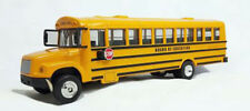 Freightliner 1/53 Scale School bus model,  custom lettered school and bus no.