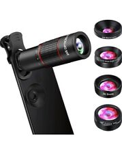 New listing Phone Camera Lens, Ovpph Cell Phone Lens Kits 10 in 1-20X Telephoto Lens + Fishe