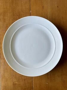 Discontinued Crate & Barrel Halo Dinner Plate 4657501
