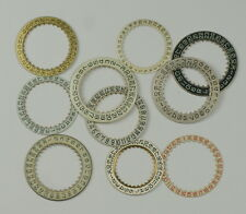 Chapter date ring dials assortment x12 Steampunk watchmakers repairs watch parts