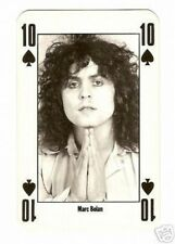 Marc Bolan - T. Rex -  NME Playing Card