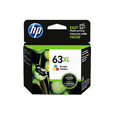 Retail BOX 2017 / 2018 Genuine HP 63XL Color ink cartridge ENVY 4520 All-in-One