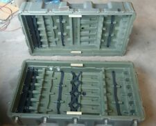 Used Military Hardigg Rifle Case Holds 12 Rifles NSN 8145-01-338-0615GG Airsoft