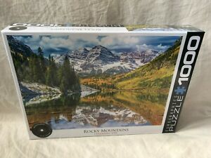 Eurographics Puzzles Rocky Mountains Colorado, USA Puzzle New in Box