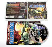 Gioco PC FRAGILE ALLEGIANCE 1996 Gremlin CD-ROM ITALIANO USATO RARO!
