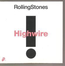 "ROLLING STONES ""Highwire"" Promo stamped Cardsleeve CD Australia"