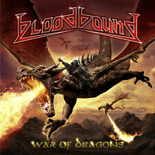 War Of Dragons (Bonus Cd) - Bloodbound (2017, CD NIEUW)2 DISC SET