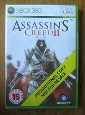 Assassins Creed II / 2 PROMO – Xbox 360 ~ NEW & SEALED (Full Promotional Game)