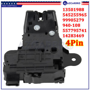 Trunk Latch Lock Actuator For 2013-2018 Chevy Malibu 2015-2019 Cadillac CTS