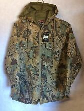 Men's Camouflage Jacket Camo Ranger Quilted Parka Medium #S