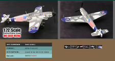 Witty Wings 1/72 BF109G-6 USAAF W. Nr. 166 133 Captured Aircraft WTW-72-003-0112