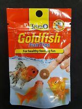 Tetra GOLDFISH FUNTIPS Tablets Fun Tips Aquarium Gold Fish Treats Food
