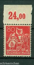 Deutsches reich 166 p or, **,