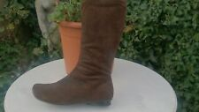 SMART SUEDE MID CALF BOOTS SIZE 5