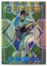 1995 Finest Refractor 48 Mike Mussina