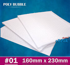 200x Mailing Bubble Envelope 160x230mm Extra Strength Padded Mailer Bag Be1