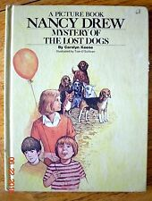 Vintage A Picture Book Nancy Drew Mystery of The Lost Dogs Teacher HC NICE