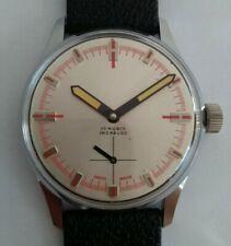 Vintage nos dresswatch unitas 6376 as 1130 wehrmachtswerk swiss made subsecond