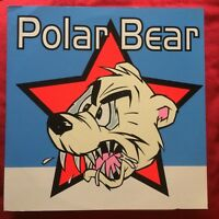 POLAR BEAR lp blu vinyl Man's Ruin Records ‎– MR-054 Frank Kozik punk garage