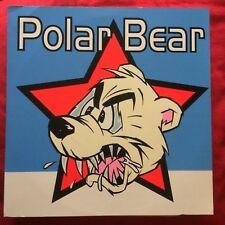 POLAR BEAR lp blu vinyl Man's Ruin Records – MR-054 Frank Kozak punk garage
