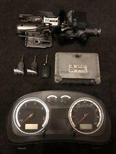VW GOLF MK4 2.0 GTI 97-04 AQY ANNIVERSARY CLOCKS ECU KEY LOCKSET 06A 906 018 EF