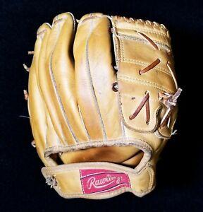 1950s Rawlings Mickey Mantle MM5 Professional Model Fielders Glove Nice VTG Mitt
