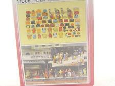 Reisegepäck - Koffer,Taschen,Rucksäcke   - Preiser HO Bausatz  1:87 - 17005   #E