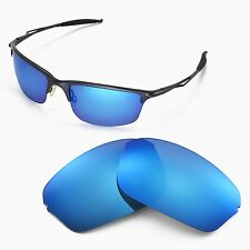 New Walleva Polarized Ice Blue Lenses For Oakley Half Wire 2.0