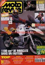 MOTO REVUE 3126 BMW R1100 GS HONDA 250 ATM KAWASAKI ZXR YAMAHA YZF MORBIDELLI