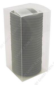 "BOX OF 25 TRI CLAMP TC GASKETS BUNA 2-1/2"" NIB SANITARY"