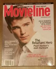 JOSH HARTNETT MOVIELINE MAGAZINE JULY 2001: PEARL HARBOR FILM, JURASSIC PARK III