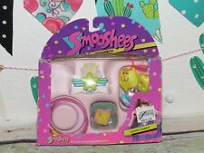 NIB Vintage Fisher Price Smooshees Smugglers Luster Leopard Cat Jewelry 1988 Toy